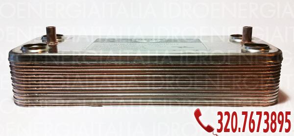 scambiatori di calore a piastre Zilmet per caldaie